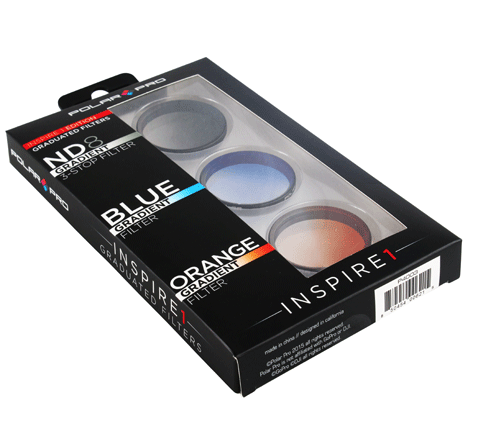 POLARPRO Inspire 1 Graduated Filter Set - Carolina Dronz - 1