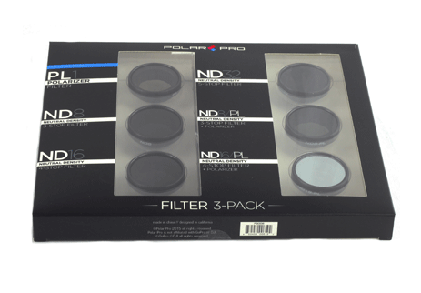 POLAR PRO GoPro Frame 2.0 Filter Professional Edition 6-Pack - Carolina Dronz - 1