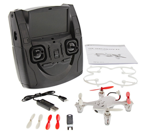 Hubsan X4 FPV Camera H107D RTF Mini Quadcopter Drone, 2.4GHz Radio w/LCD Screen - Carolina Dronz - 1