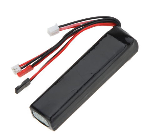 LiPo Battery 11.1V 2200mAh for Futaba JR Walkera Devo7/10 WFLY US - Carolina Dronz