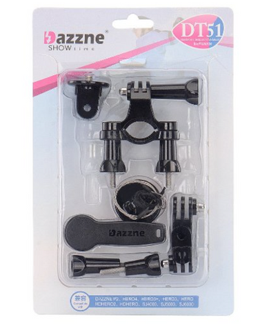 Dazzne Bicycle 4CM diameter tubes handlebar seatpost with accessories - Carolina Dronz