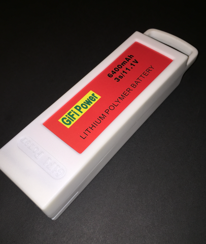 GIFI 6400Mah Yuneec Battery Replacement - Carolina Dronz - 1