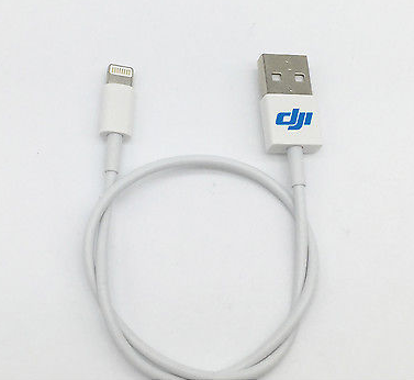 DJI USB Cable For Apple iPad, iPhone Device - Carolina Dronz