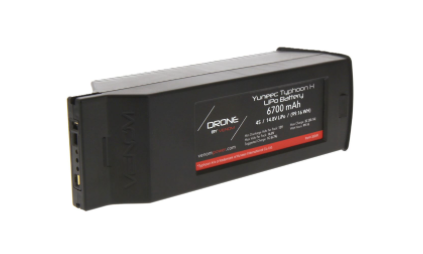 Venom 14.8V 4S 6700mAh YUNEEC Typhoon H LiPo Battery
