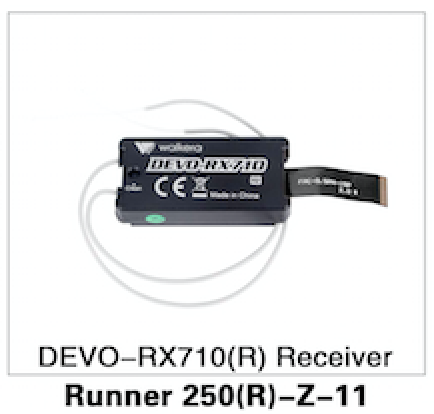 WALKERA Runner 250 Advanced DEVO-RX710 Receiver