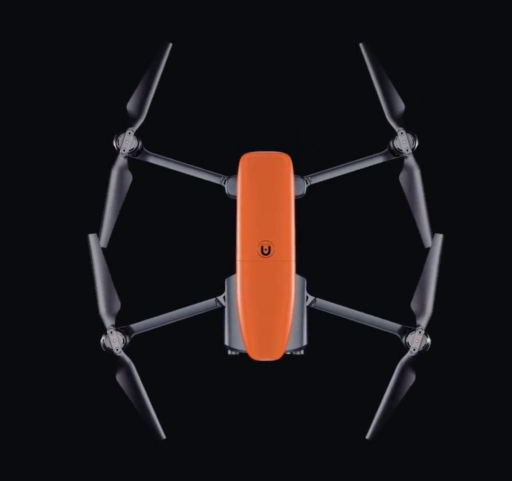 Autel Robotics EVO Compact Retractable Drone W/ 2 Extra Batteries & 1 Extra Set Propellers