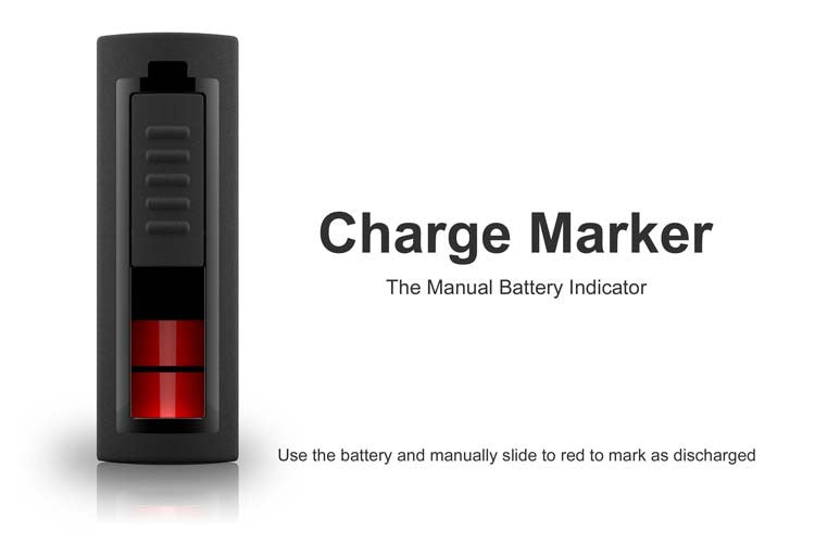 Battery Charger Marker, Manual Battery Indicator - Carolina Dronz - 4