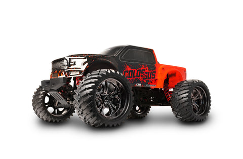 Colossus XT Mega Monster Truck RTR, w/ HobbyWing ESC, Savox Steel Gear Servo, and 2.4Ghz Radio
