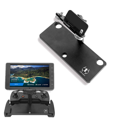 Crystalsky 5.5 / 7.85 inch  Monitor Tablet Holder Extension Aluminum Bracket Remote Control Mount For DJI Mavic Pro SPARK Drone
