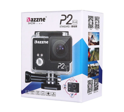 Dazzne P2 PLUS Sports Camera 2K30 1080P60 WIFI - Carolina Dronz - 1