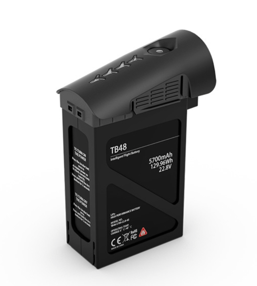 DJI TB48 5700mAh Inspire 1 Battery (Black) - Carolina Dronz