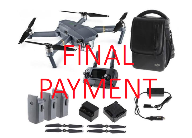 DJI MAVIC PRO Bundle Final Payment ONLY - Carolina Dronz