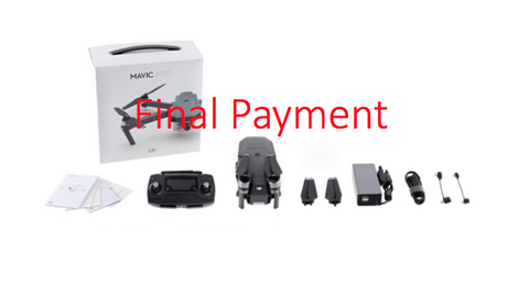 DJI MAVIC PRO With Radio FINAL PAYMENT ONLY - Carolina Dronz