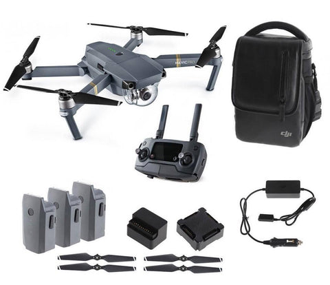 DJI MAVIC PRO Bundle Kit with 3 Batteries - Carolina Dronz - 1
