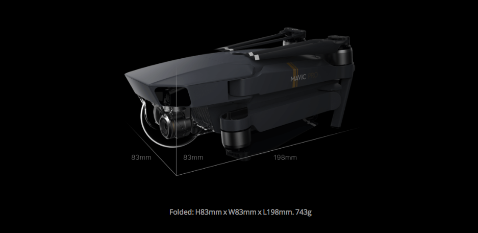 DJI MAVIC PRO Bundle Kit with 3 Batteries, PRE-ORDER - Carolina Dronz - 7