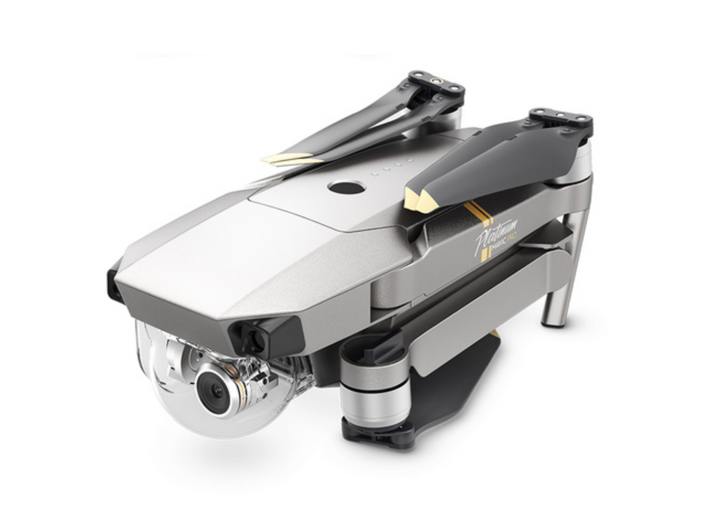 DJI MAVIC PRO Platinum Fly More Bundle Kit with 3 Batteries