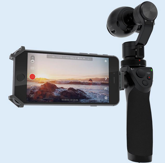 DJI Osmo Advanced Handheld Gimbal System with X3 Camera - Carolina Dronz - 3