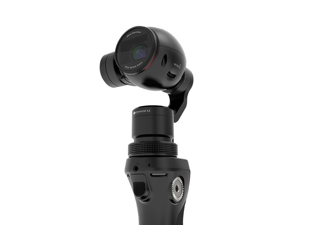 DJI Osmo Advanced Handheld Gimbal System with X3 Camera - Carolina Dronz - 1