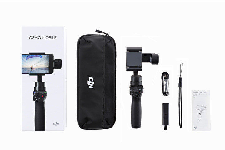 DJI Osmo Mobile Advanced Handheld Gimbal System for Smartphones - Carolina Dronz - 3