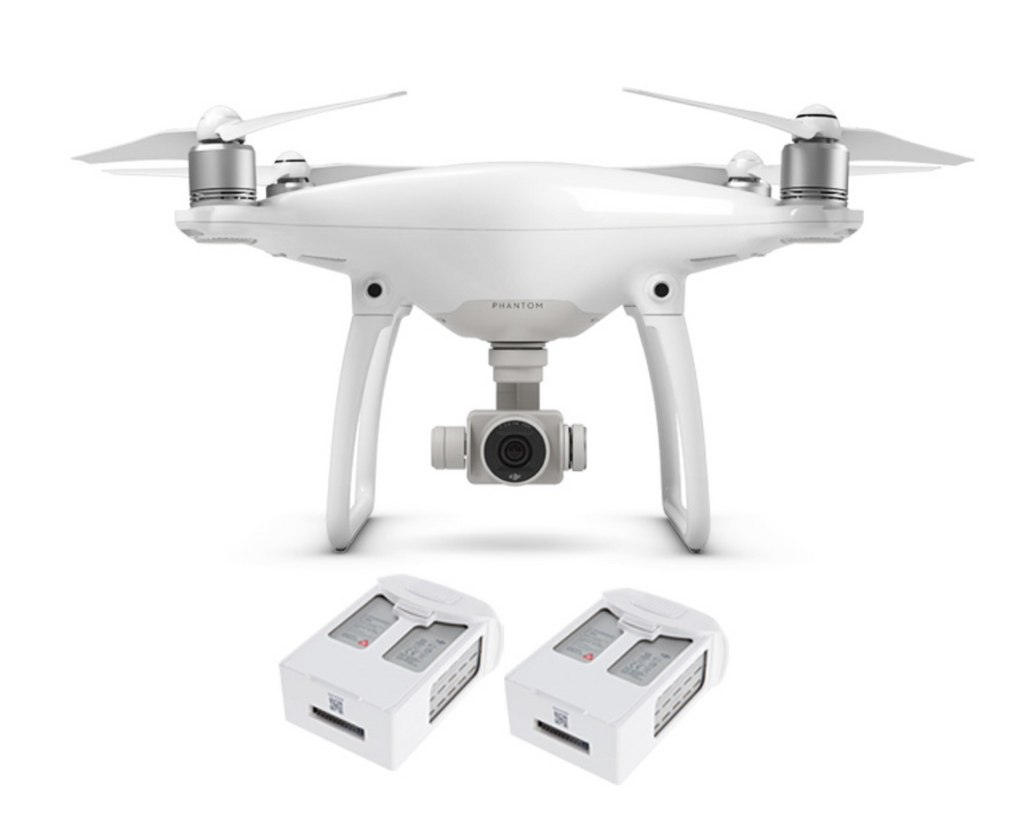 DJI PHANTOM 4 QUADCOPTER with Two Extra Battery - Carolina Dronz - 1