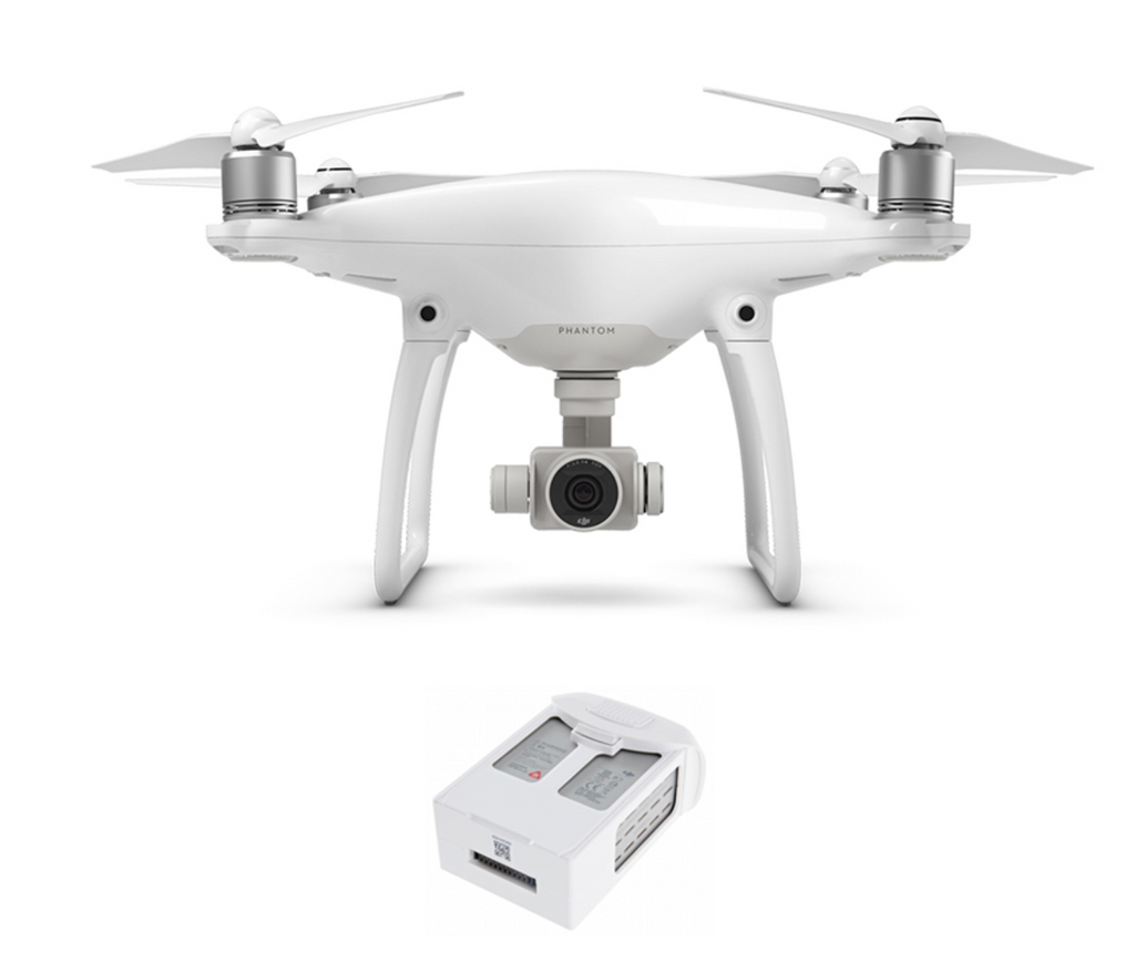 DJI PHANTOM 4 QUADCOPTER with One Extra Battery - Carolina Dronz - 1