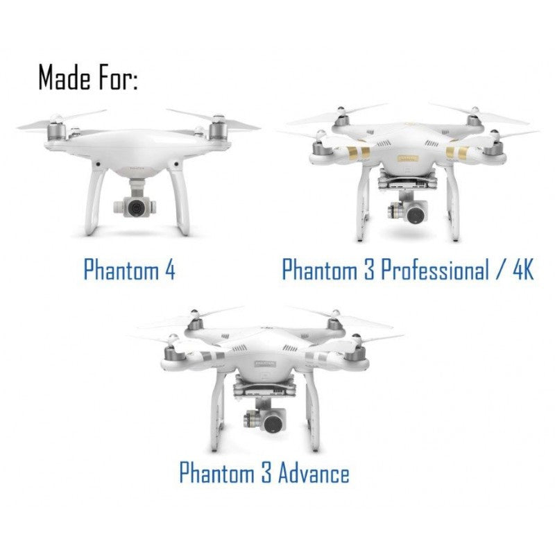 FREEWELL DJI PHANTOM 3 Advance, Professional Phantom 4 PRO Series 4-PACK - Carolina Dronz - 3