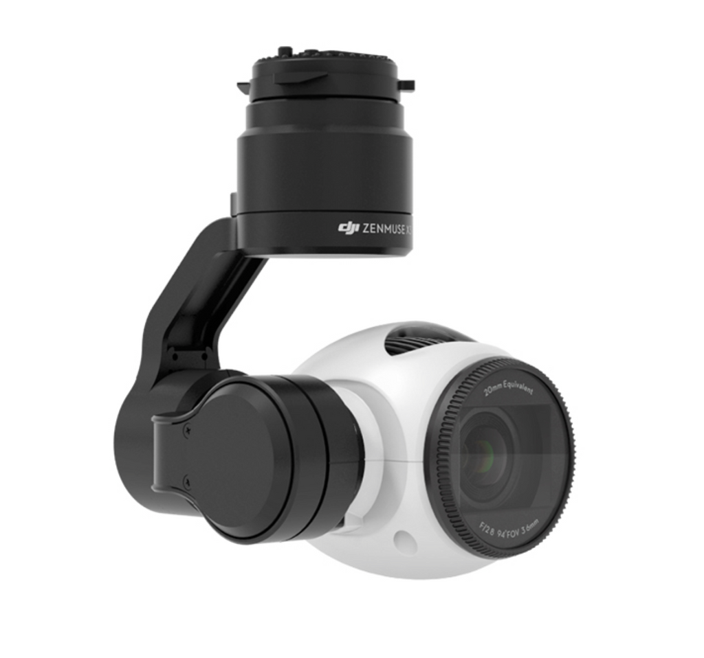 DJI Zenmuse X3 Gimbal and Camera for Inspire, M100, M600 - Carolina Dronz - 1
