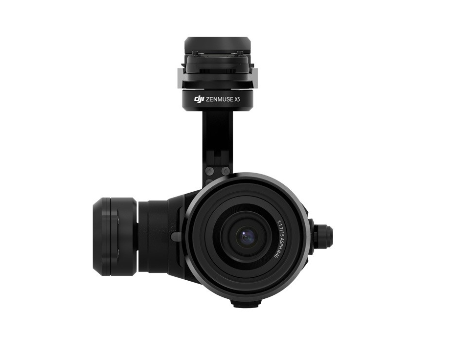 DJI Zenmuse X5 Gimbal & Camera with Lens - Carolina Dronz - 1
