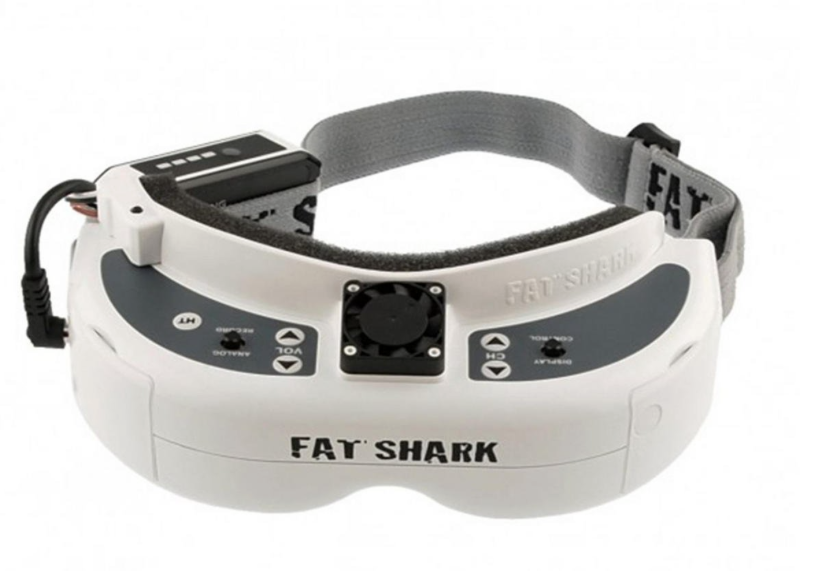 FatShark Dominator HD V2 with Fan Equipped Faceplate FSV1074 - Carolina Dronz - 1
