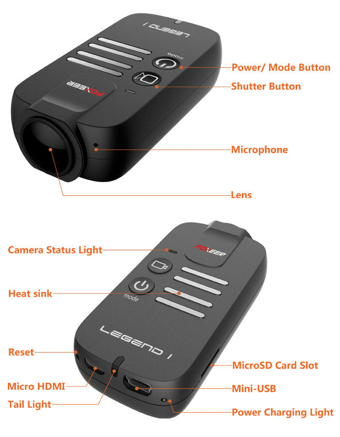 FOXEER Legend 1 16MP 1080/60 HD Camera - Carolina Dronz - 4