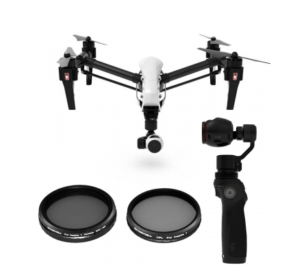FREEWELL DJI INSPIRE 1 / OSMO FILTER 2-PACK - Carolina Dronz - 1
