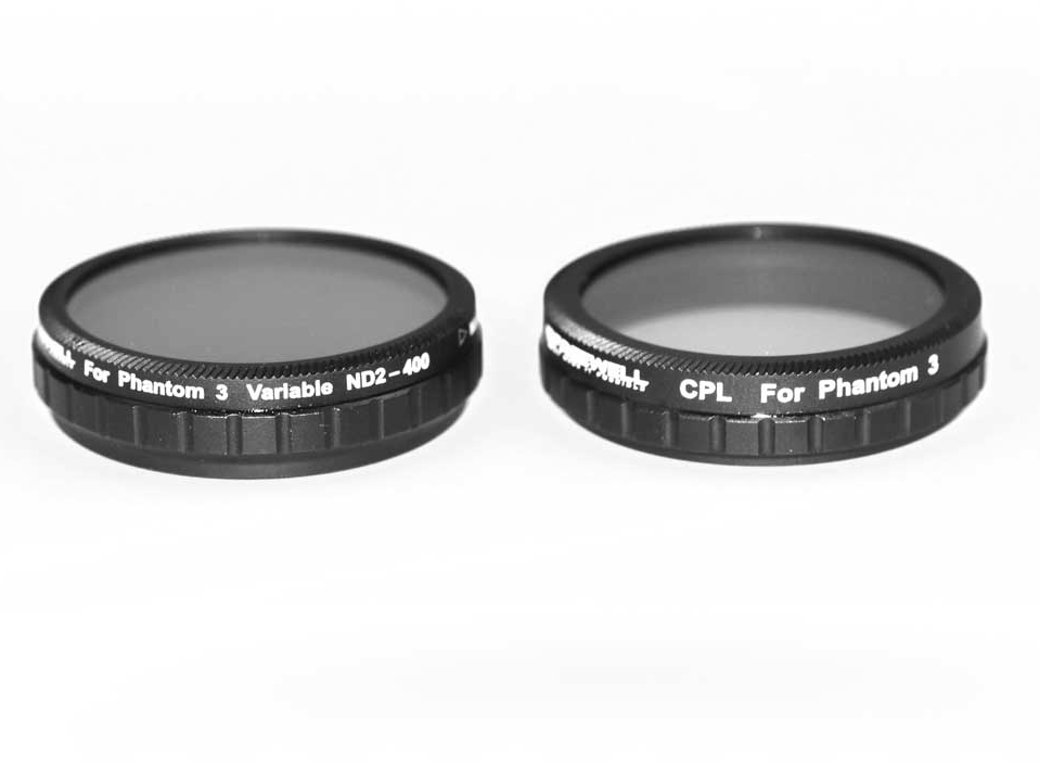 FREEWELL DJI PHANTOM 3 ADVANCE/PROFESSIONAL FILTER 2-PACK - Carolina Dronz - 2
