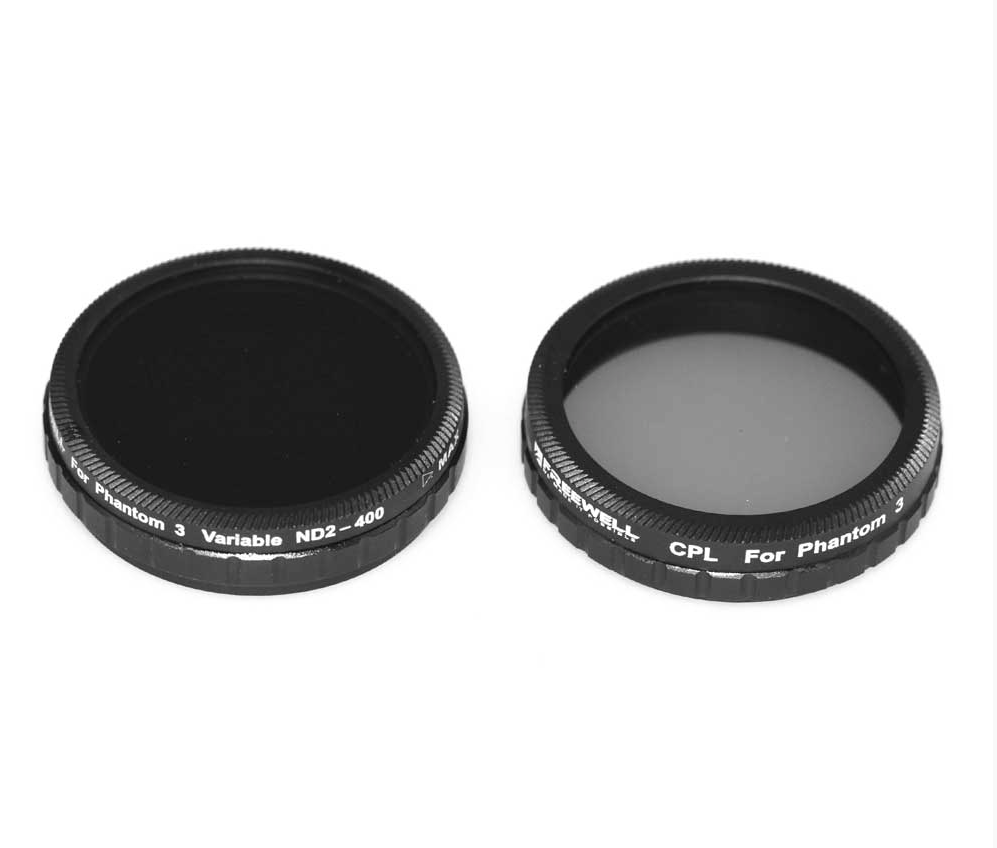 FREEWELL DJI PHANTOM 3 ADVANCE/PROFESSIONAL FILTER 2-PACK - Carolina Dronz - 3
