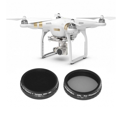FREEWELL DJI PHANTOM 3 ADVANCE/PROFESSIONAL FILTER 2-PACK - Carolina Dronz - 1