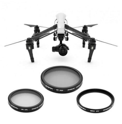 FREEWELL DJI INSPIRE X5/X5R 3-Pack Filters - Carolina Dronz - 1