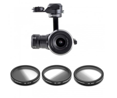 FREEWELL DJI INSPIRE X5/X5R ND Graduated 3-PACK Filters - Carolina Dronz - 1