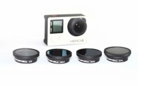 Freewell GOPRO 3+ & 4 FILTER 4-PACK
