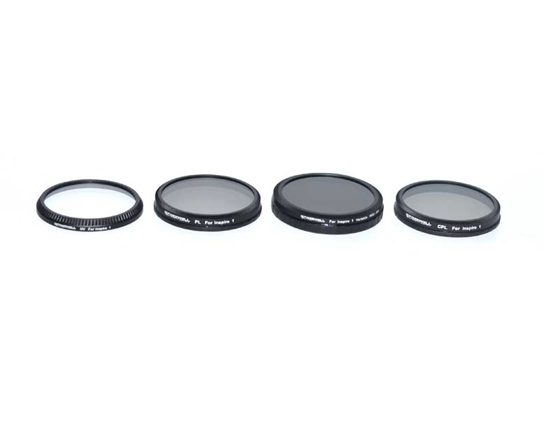 FREEWELL DJI INSPIRE 1 / OSMO FILTER 4-PACK - Carolina Dronz - 3