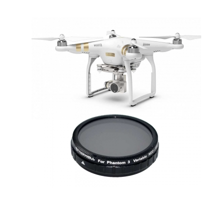 FREEWELL DJI PHANTOM 4 VARIABLE ND 2-400 FILTER - Carolina Dronz - 1