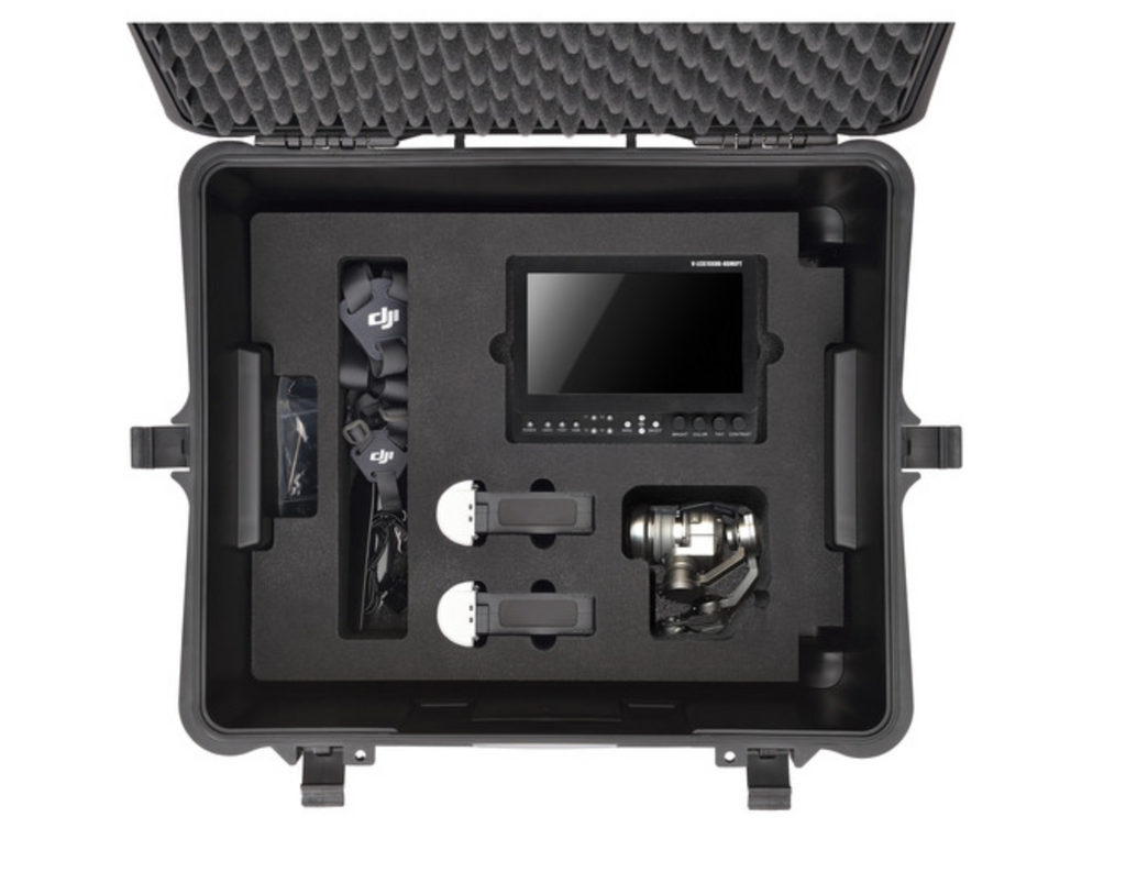 HPRC Wheeled Hard Case with Foam for DJI Inspire 1 or Pro - Carolina Dronz - 3