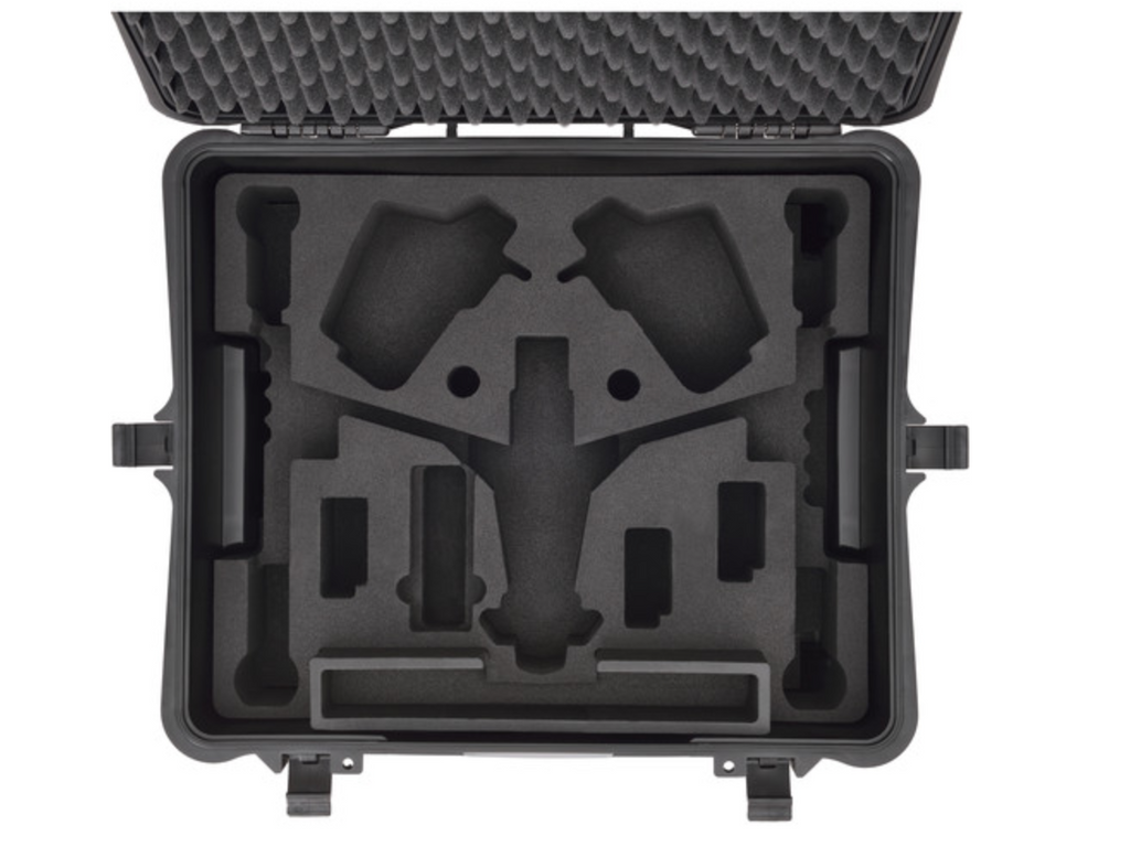 HPRC Wheeled Hard Case with Foam for DJI Inspire 1 or Pro - Carolina Dronz - 4