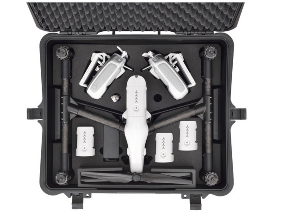 HPRC Wheeled Hard Case with Foam for DJI Inspire 1 or Pro - Carolina Dronz - 2