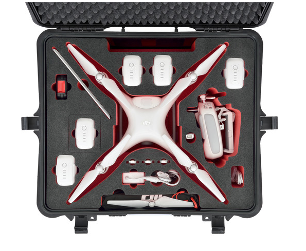 HPRC Hard Case for DJI Phantom 4 - Carolina Dronz - 4