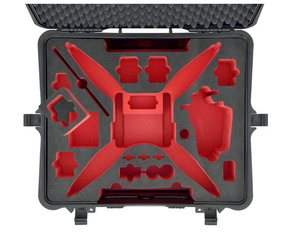 HPRC Hard Case for DJI Phantom 4 - Carolina Dronz - 5