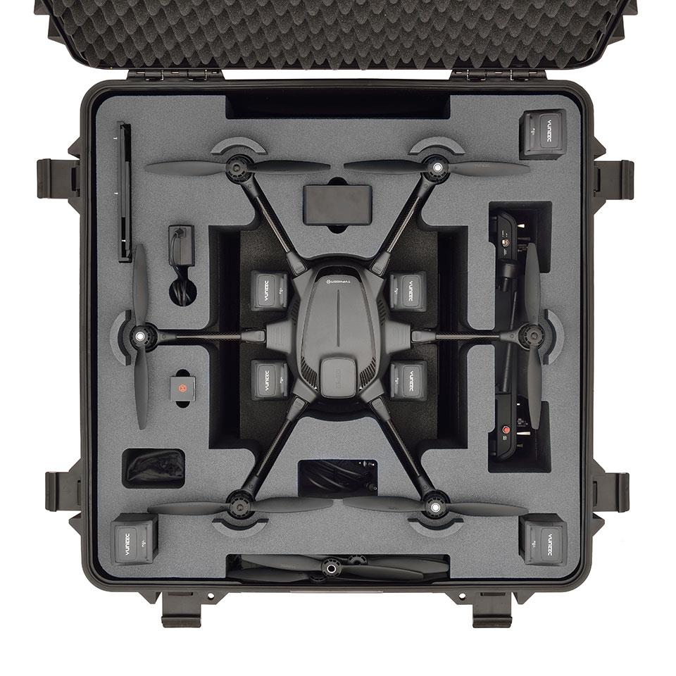 HPRC Typhoon H, H520 Wheeled Rolling Case