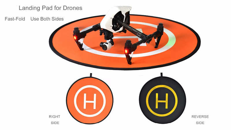 Landing Pad For All Drones 43 Inch Circle - Carolina Dronz - 2