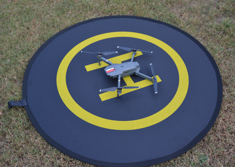 Landing Pad For All Drones 43 Inch Circle - Carolina Dronz - 1