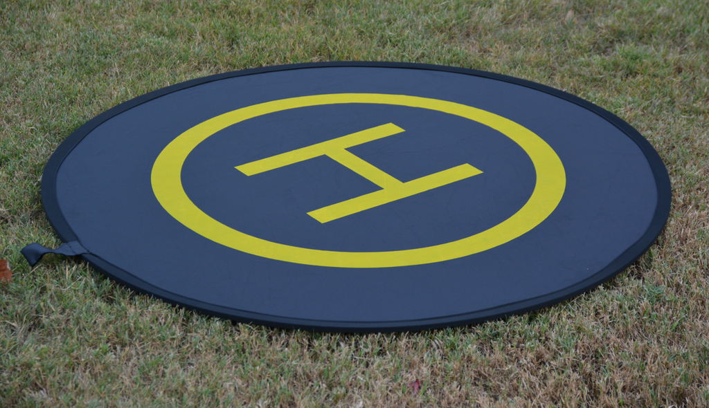 Landing Pad For All Drones 43 Inch Circle - Carolina Dronz - 6