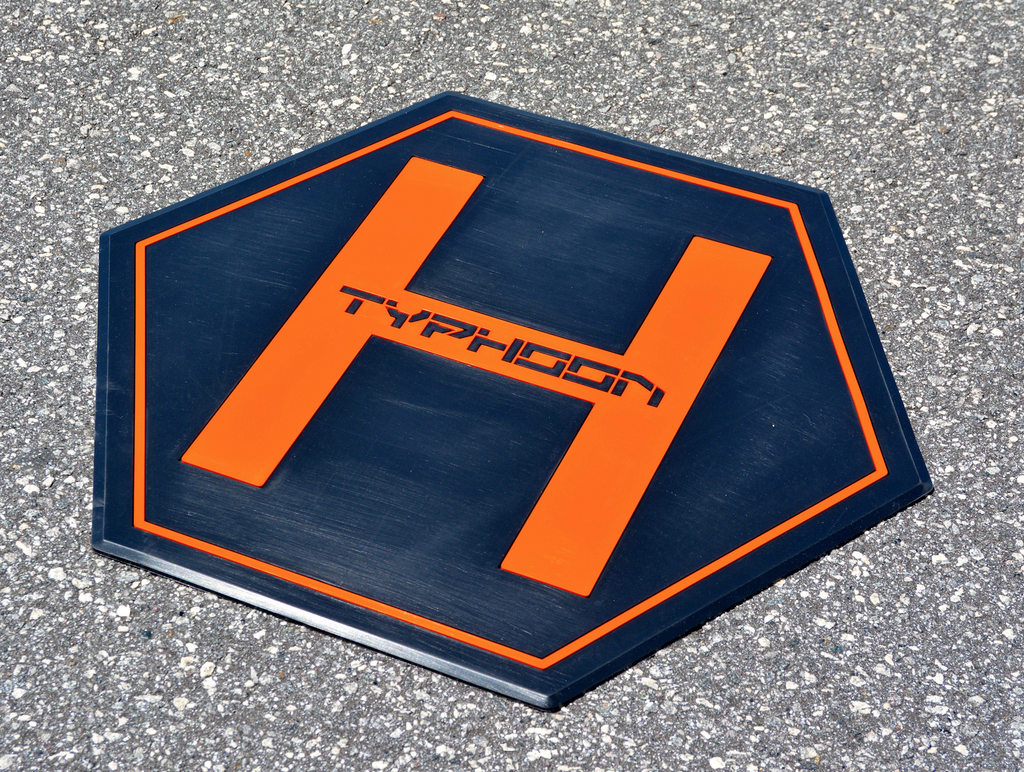 Yuneec Typhoon H Thick Rubber Landing Pad and Carrying Handle - Carolina Dronz - 6