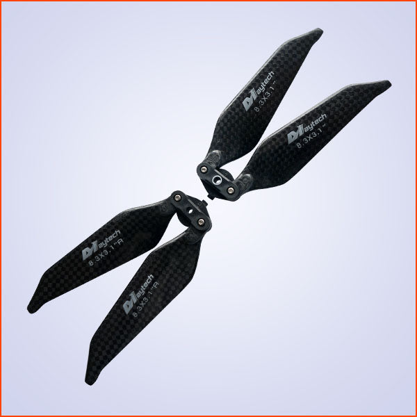 Maytech Carbon Fiber Quiet Props for Mavic Pro Replacement Propellers Set